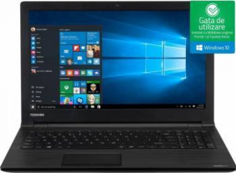 Laptop Toshiba Satellite Pro R50-D-107 Intel Core Kaby Lake i3-7100U 500GB 4GB Win10 HD Laptop laptopuri