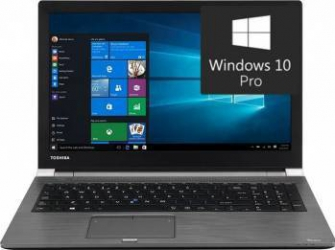 Laptop Toshiba Tecra Z50 Intel Core Kaby Lake i5-7200U 256GB 8GB Win10 Pro FullHD Silver Resigilat Laptop laptopuri