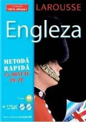 Larousse Engleza - Metoda rapida. Carte + 2xCD Carti