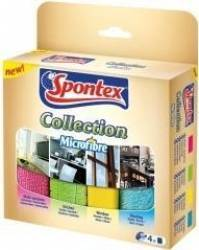 Lavete Microfiber Collection Spontex 4 buc