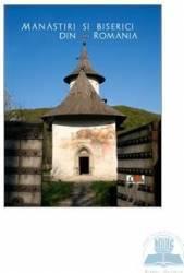 Lb. franceza + DVD - Manastiri Si Biserici Din Romania