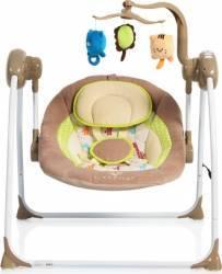 Leagan Electric Moni Baby Swing+ Cappucino Balansoare, premergatoare, centre activi