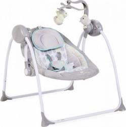 Leagan Electric Moni Baby Swing+ Grey Balansoare, premergatoare, centre activi