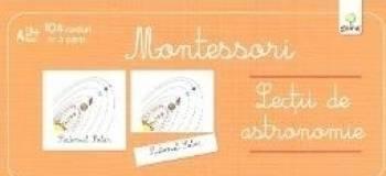 Lectii de astronomie - Montessori - Sistemul solar soarele pamantul luna fazele lunii cometa