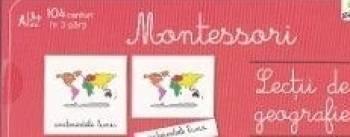 Lectii de geografie - Montessori