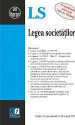 Legea Societatilor Act. 18 August 2015