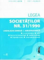 Legea societatilor Nr. 31 din 1990 Ianuarie 2018