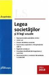Legea societatilor si 8 legi uzuale Ed.2018