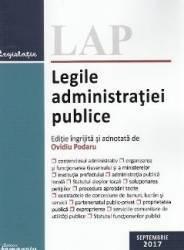 Legile administratiei publice Septembrie 2017
