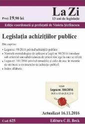 Legislatia achizitiilor publice act. 16.11.2016 Carti