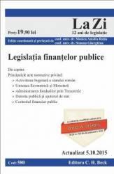 Legislatia Finantelor Publice Act. 05.10.2015