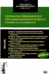 Legislatia personalului din administratia publica - Dan Constatin Mata