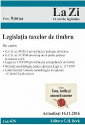 Legislatia Taxelor De Timbru Act. 16.11.2016