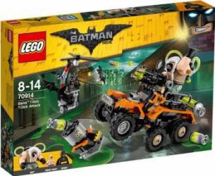 LEGO BATMAN - ATACUL CU CAMIONUL TOXIC A LUI BANE 70914 Lego