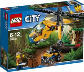LEGO CITY - ELICOPTER PENTRU MARFA IN JUNGLA 60158 Lego