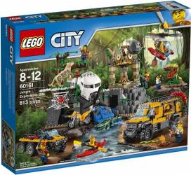 LEGO CITY - JUNGLA: AMPLASAMENT DE EXPLORARE 60161 Lego