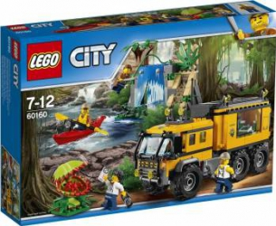 LEGO CITY - JUNGLA: LABORATOR MOBIL 60160 Lego