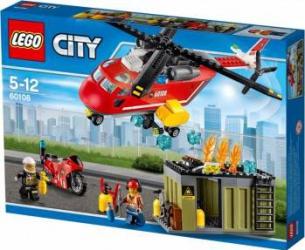 LEGO CITY - POMPIERI: UNITATE DE INTERVENTIE 60108 Lego