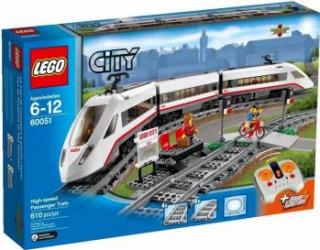 LEGO CITY - TREN DE PASAGERI DE MARE VITEZA 60051 Lego
