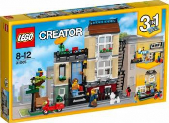 LEGO CREATOR - CASA DE PE STRADA PARCULUI 31065 Lego