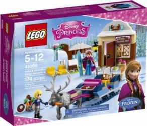 LEGO DISNEY - ANNA SI KRISTOFF: AVENTURA CU SANIA 41066 Lego