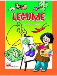 Legume - Carte de colorat