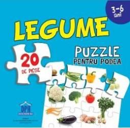 Legume. Puzzle pentru podea 3-6 ani