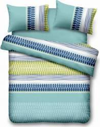 Lenjerie de pat dubla Heinner Home VN-4BEDYX60-SPLASH, 4 piese Albastru Lenjerii de pat