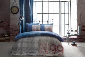 Lenjerii de Pat Ranforce Tac Loft Lacivert Lenjerii de pat