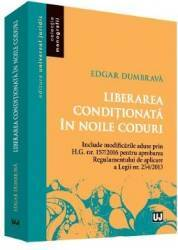 Liberarea conditionata in noile coduri - Edgar Dumbrava
