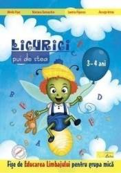 Licurici pui de stea. 3-4 ani. Educarea limbajului. Grupa mica - Mirela Fiser Mariana Damaschin