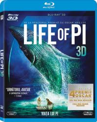 LIFE OF PI BluRay 3D 2012