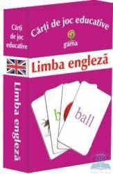 Limba engleza - Carti de joc educative