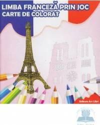 Limba franceza prin joc - Carte de colorat