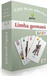 Limba germana - Carti de joc educative Carti