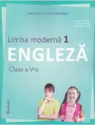 Limba moderna 1. Engleza - Clasa 5 - Manual + CD - Liliana Putinei Cristina Mircea