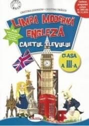 Limba moderna engleza cls a III-a caiet - Cristina Johnson Cristina Dragoi