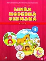 Limba moderna germana clasa 1 sem. 2 + CD - Naomi Achim Eugenia Rosian