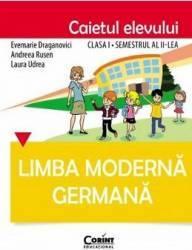 Limba Moderna Germana Cls 1 Caiet Sem.2 - Evemarie Draganovici