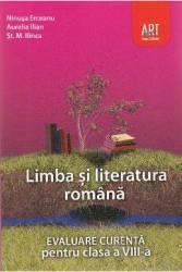 Limba romana - Clasa 8 - Evaluare curenta - Ninusa Erceanu Aurelia Ilian
