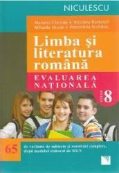 Limba romana - Clasa 8 - Evaluare nationala 65 de variante - Mariana Cheroiu Nicoleta Kuttesch