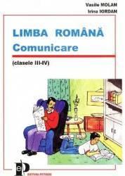 Limba romana comunicare cls III-IV - Vasile Molan Irina Iordan