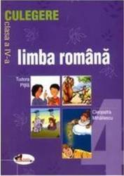 Limba romana culegere clasa a 4-a - Tudora Pitila Cleopatra Mihailescu Carti