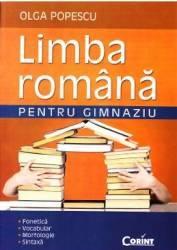 Limba romana pentru gimnaziu - Olga Popescu