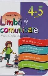 Limba si comunicare 4-5 ani - Elena Bolanu