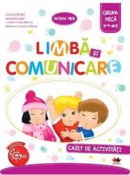 Limba Si Comunicare Caiet De Activitati Grupa Mica 3-4 Ani - Cristina Banica Carti