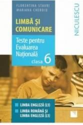 Limba Si Comunicare Cls 6 RomanA-Engleza Evaluare Nationala - Florentina Stavri albastru