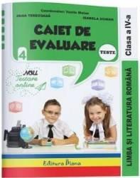 Limba si literatura romana. Clasa a 4-a. Caiet de evaluare - Vasile Molan