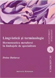 Lingvistica si terminologie - Doina Butiurca title=Lingvistica si terminologie - Doina Butiurca