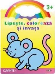Lipeste Coloreaza Si Invata Cuvinte 1 3 Ani+